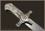 Polish sabre karabela XVIII c. - chromed blade, patined brass.